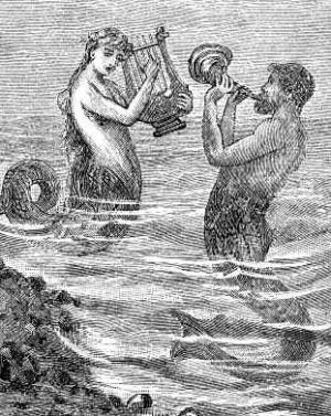 Русалки - видения моряков