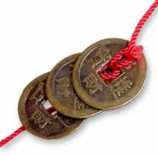 Книга Перемен - монетки