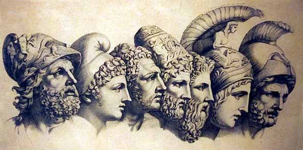 a comparison of achilles and hercules two greek heroes