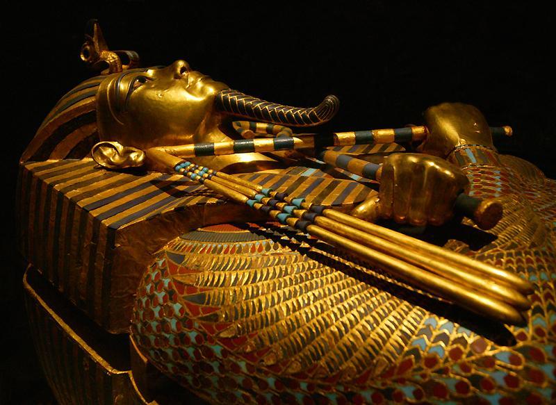 Саркофаг Тутанхамона: исследования
