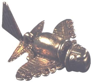 Древние артефакты: фигурки летательных аппаратов