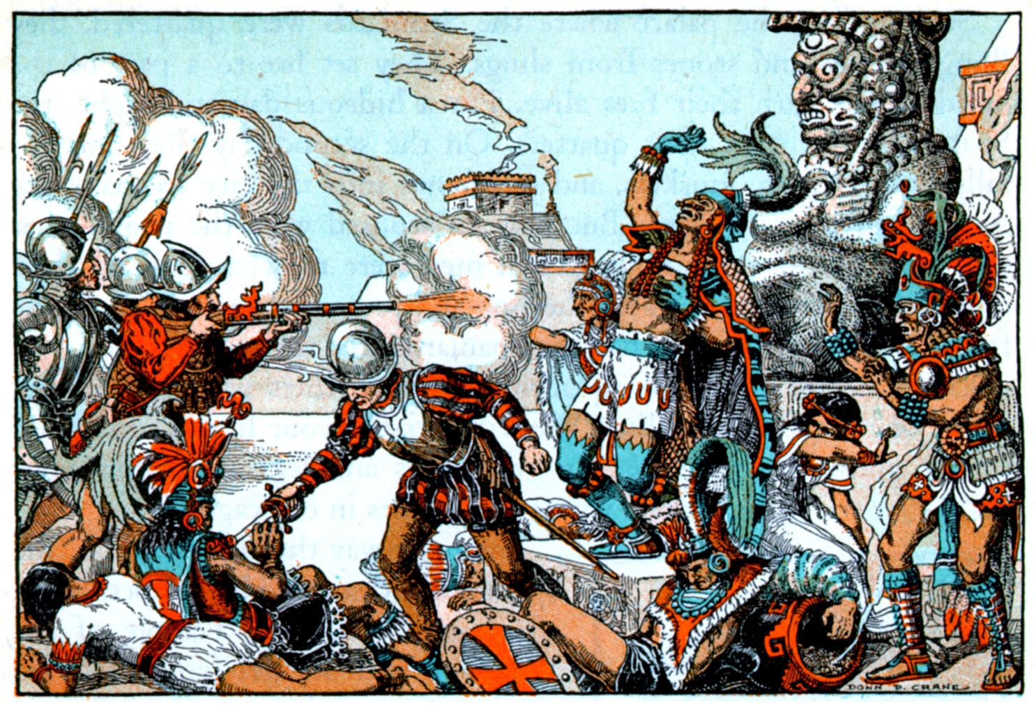 the expedition of hernando cortez to mexico and its conquest Where can a map of hernando cortes' route be found a: his expedition to mexico led to the fall of the aztec empire map of hernando cortez.