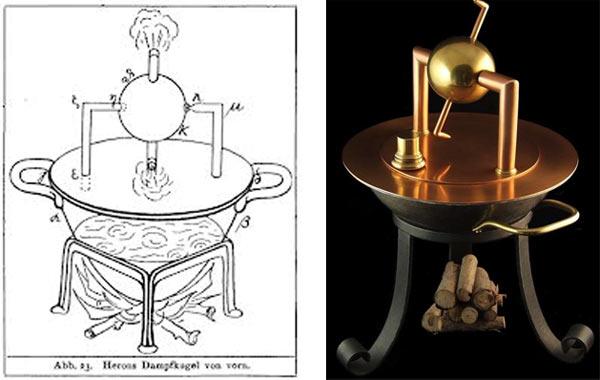 Технологии древних цивилизаций: паровой двигатель
