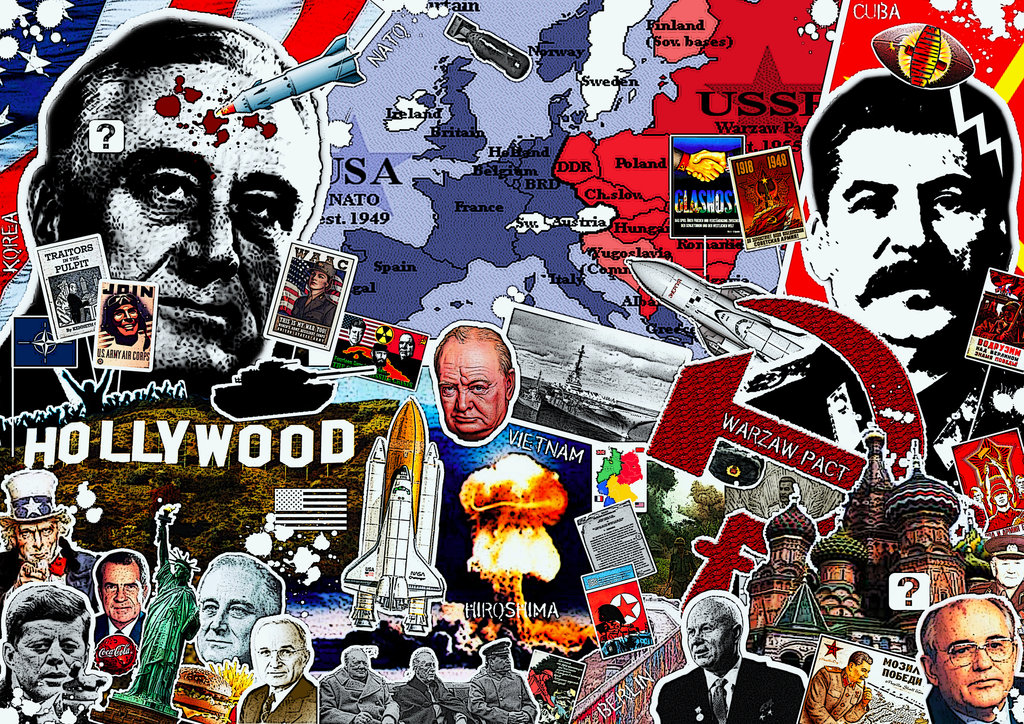 the history of the cold war the first war of words