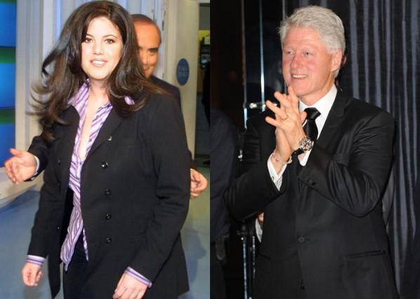 Клинтон и Моника: удар по отношениям