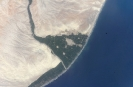Цунами - снимок со спутника