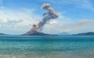 Цунами - последствие извержения вулкана