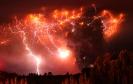 Извержения вулканов: облако копоти