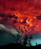 Извержения вулканов: облако пепла