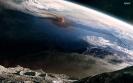 Извержения вулканов: вид с Луны