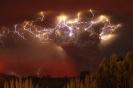 Извержения вулканов: возле Энтрелагоса