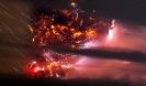 Извержения вулканов: вулканические молнии
