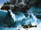 Самые сильные цунами в истории Кракатау 1883 год