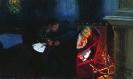 Летаргический сон Гоголя: картина «Самосожжение» Гоголя»