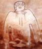 Наскальные рисунки НЛО: древний астронавт