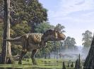 Тираннозавр - крупный динозавр