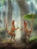 Динозавры с оперением - синозавроптериксы