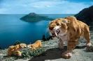 Саблезубый тигр: зубы