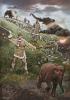 Охота на мамонтов - пища