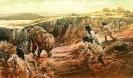 Охота на мамонтов - источник мяса