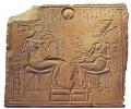 Космические пришельцы и строительство египетских пирамид: гравюра