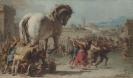 Троя - картина «Шествие троянского коня в Трою»