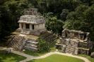 Пирамиды майя - Храм Солнца, Паленке