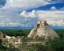 Пирамиды майя: расположение