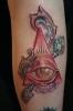 Иллюминаты - современная татуировка