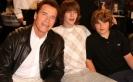 Арнольд Шварценеггер с сыновьями Патриком и Кристофером
