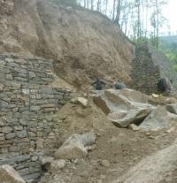 Каменный оползень: незаметная опасность