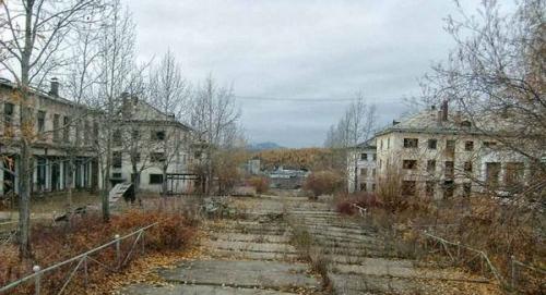 заброшенные. города фото