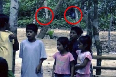 пришелец из джунглей Амазонки