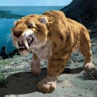 фото как выглядит саблезубый тигр