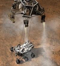 Curiosity: маленький посланник большой цивилизации