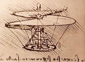 воздушный винт Леонардо да Винчи