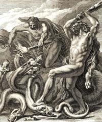 Геракл и Лернейская гидра