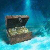 Затонувшие корабли с сокровищами 20 тенге 1993 года