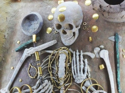 древние ювелирные изделия из меди