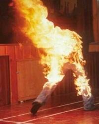 спонтанное возгорание человека