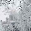 Снегопад в Санкт-Петербурге: на то и «северная» столица…