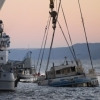 Подъём затонувших кораблей: техника и терпение